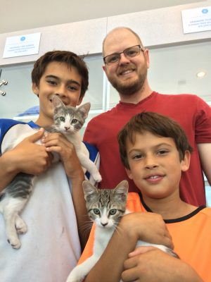 Cat Adoptions at Marin Humane