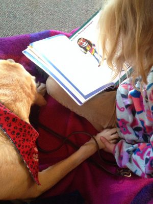 Share a Book with a Dog @ Corte Madera Library