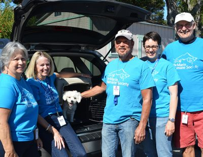 Animal Transport Volunteers at Marin Humane