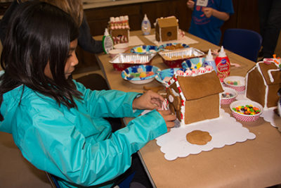 Gingerbread Dog & Cat House Decorating Workshop for Kids @ Marin Humane