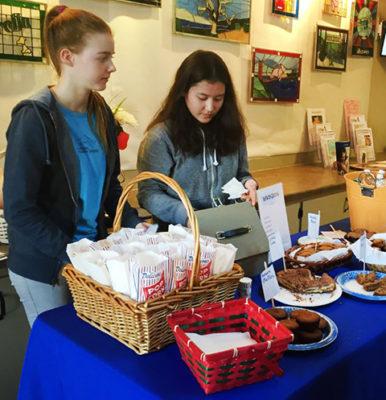Senior Roots & Shoots Bake Sale @ Marin Humane