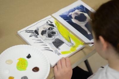 VIRTUAL Paint Your Pet Workshop @ Online Zoom workshop